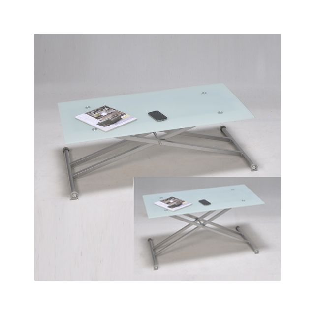 No Name Table Multiposition Updown / Blanche