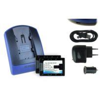 mtb more energy® - 2 Batteries + Chargeur USB, Bn-vg107 pour Jvc Gz-ms215, Ms216, Ms230, Ms240, Ms250