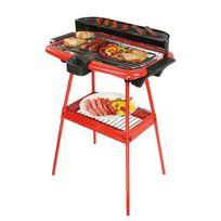 Be Nomad - Barbecue électrique sur pieds rouge 2000W