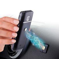 TETRAX - Support aimant pour petits smartphones - T10300 - Gris