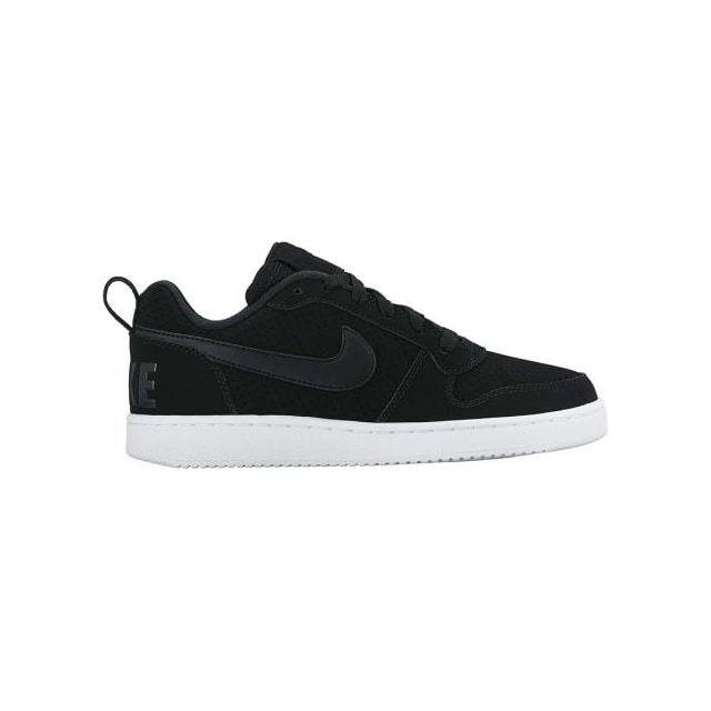 huge discount d1bc2 3439e Nike - Chaussures Court Borough Low noir femme - pas cher Achat / Vente Chaussures  fitness - RueDuCommerce