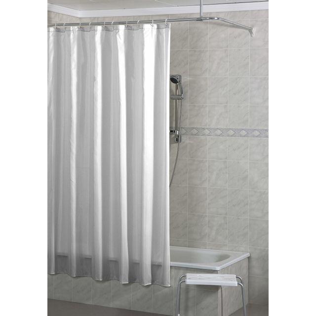 CARREFOUR - Rideau de douche PVC - 180x200 cm -Blanc - HO64871 - pas ...