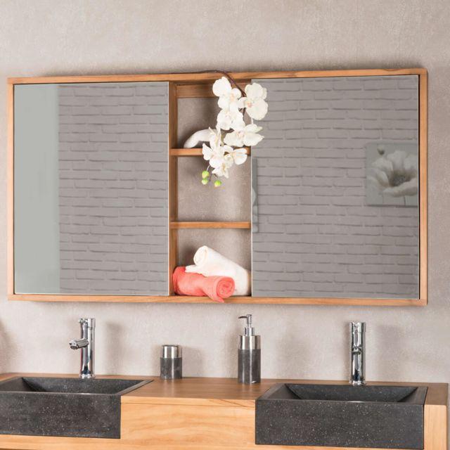 Wanda Collection Miroir armoire de toilette 130 cm