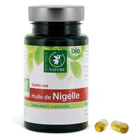 Boutique Nature - Huile de Nigelle - 60 capsules d'origine végétales