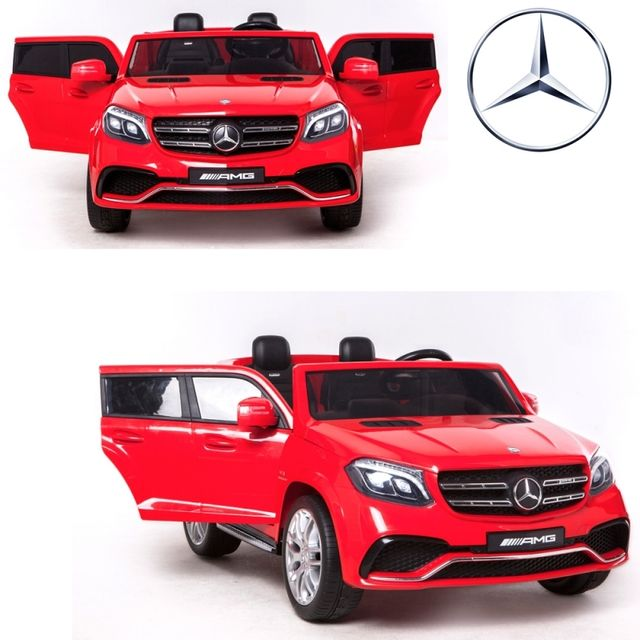 mercedes voiture lectrique enfant 24 volts vraie 2 places 24v rouge puissante pas cher. Black Bedroom Furniture Sets. Home Design Ideas