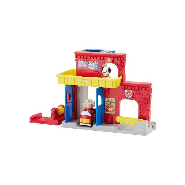 Fisher Price Fisher-price - La caserne de pompiers Little People 1-5 ans