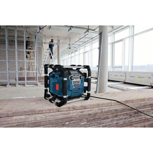 Bosch - Radio de chantier pour batteries 14.4 et 18V Li-Ion livrée sans batterie ni chargeur Gml 20 14.4 -18 V 06014297W0