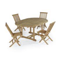 Soldes Salon jardin table ronde - Achat Salon jardin table ronde pas ...