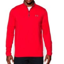 Under Armour - Tee-shirt ColdGear Infrared 1/4 Zip manches longues
