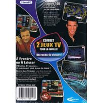 Mindscape - Logiciel Coffret 2 Jeux Tv : 1 Contre 100 + A Prendre Ou À Laisser-Neuf