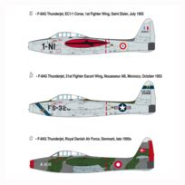 Heller - Maquette avion F-84G Thunderjet
