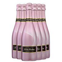 Champagne Nicolas Feuillatte - Graphic Ice Rose lot de 6 bouteilles