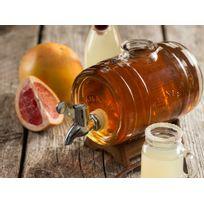 Kilner - Fontaine en verre à liqueur 1L + doseur inox Drinking