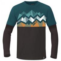 Abk - T-shirt Bigwall Crag Petrol Marine
