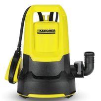 KARCHER - Pompe d'évacuation pour eau claire 6000l/h 250W SP2 Flat - 1.645-501.0