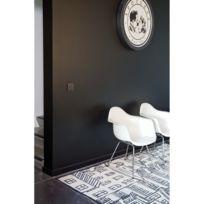 PAPILIO - Tapis KILIM URBAIN Tapis Moderne par blanc 160 x 230 cm
