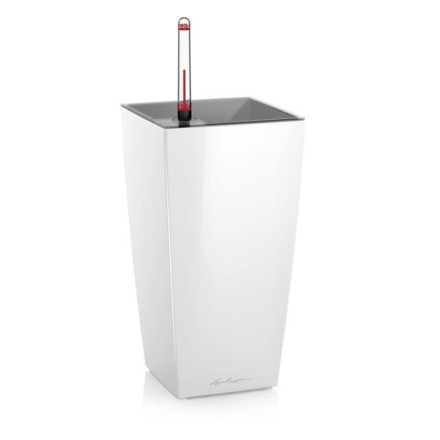 Pot de table Maxi-Cubi - kit complet, blanc brillant 26 cm