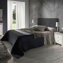 Tete de lit cuir achat tete de lit cuir pas cher rue du commerce - Tete de lit rue du commerce ...