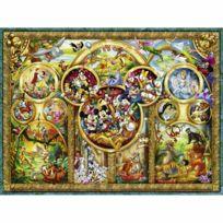 Ravensburger - Puzzle 1000 pièces : Les plus beaux thèmes Disney