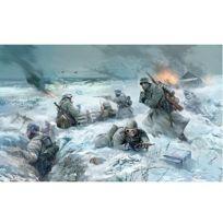 Zvezda - Figurines 2ème Guerre Mondiale : Infanterie allemande tenue hiver