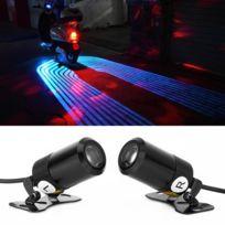 Led Moto Phare 3w Ice 8 4 Light Dc Pcs Lampe 2 De Du M 36v Projection LumièreLongueur Câble2 Blue WH9ED2I