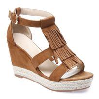 Sandale Compensée Enza Nucci DF2820 Camel 4RALXH5N