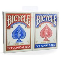 Us Playing Card Co. - 1001781 - Jeu De SociÉTÉ - Bicycle Rider Back Standard Index - 2 Pack