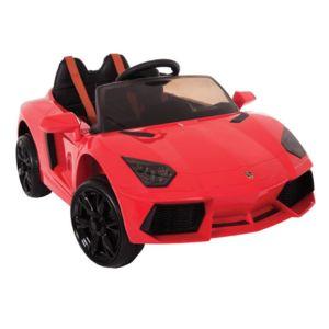 bikeroad lamborghini voiture l ctrique enfant rouge pas cher achat vente v hicule. Black Bedroom Furniture Sets. Home Design Ideas