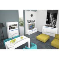 TOPDECO - Ensemble de salle à manger Lino + LED