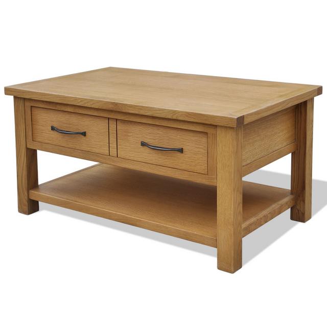 Vidaxl Table basse en chêne 88 x 53 45 cm