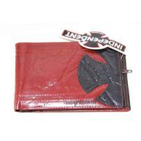 Independent - Portefeuille en cuir Half pipe Red