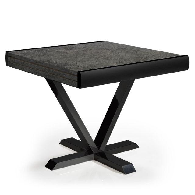 MENZZO Table Newick Effet Béton