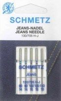 Schmetz - 5 Aiguilles pour machines à coudre Jeans 1
