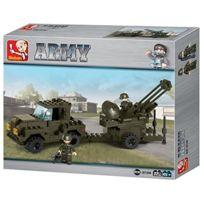 Sluban Europe - Jeu De Construction - Nouvelle SÉRIE ArmÉE - Artillerie Anti AÉRIENNE - Sluban M38-B7300