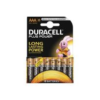 Duracell - Pile Aaa x8 Plus Power Lr03