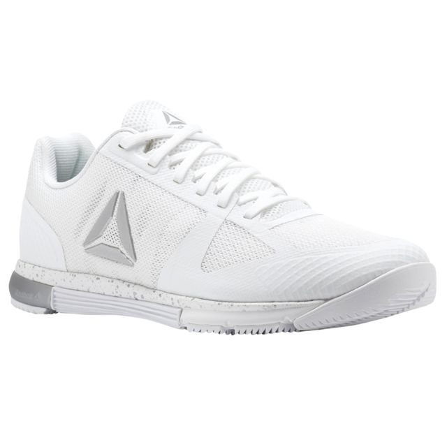 1ae0e3a3ee8 Reebok - Chaussures femme CrossFit Speed Tr 2.0 blanc argent - pas cher  Achat   Vente Chaussures fitness - RueDuCommerce