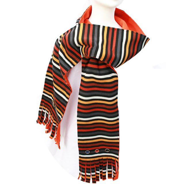 Liz Foliz - Echarpe Ryanna Epice Orange - pas cher Achat   Vente Echarpes,  foulards - RueDuCommerce 71a29c4638d