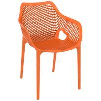 Chaise orange achat chaise orange pas cher soldes for Chaise transparente solde
