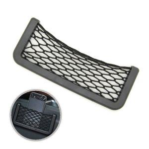 mygoodprice filet de rangement adh sif pour voiture vide poche xl pas cher achat vente. Black Bedroom Furniture Sets. Home Design Ideas