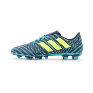 adidas Performance Nemeziz 17.4 FG Legend Ink / Yellow / Blue - Chaussures Football Homme