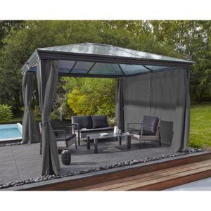marque generique tonnelle martika gris clair x x cm 3m x x pas. Black Bedroom Furniture Sets. Home Design Ideas