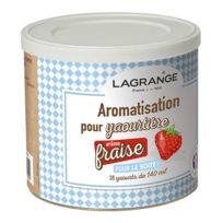 LAGRANGE - pot de 425g arome fraise pour yaourtière - 380320