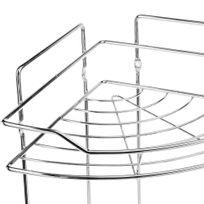 etagere douche sans percer achat etagere douche sans percer pas cher soldes rueducommerce. Black Bedroom Furniture Sets. Home Design Ideas