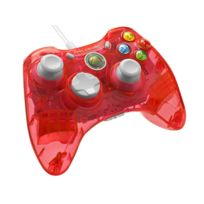 Afterglow - Manette filaire Rock Candy Stormin' Cherry rouge - XBOX 360