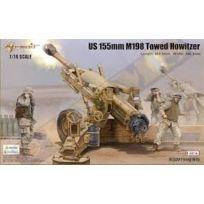 Meng Models - Merit Models 1:16 - Us 155MM M198 Towed Howitzer Kit