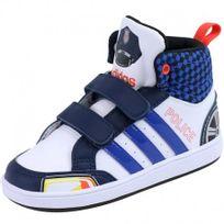 Adidas originals - Chaussures Montantes Blanc Hoops Cmf Police Bébé Garçon Adidas