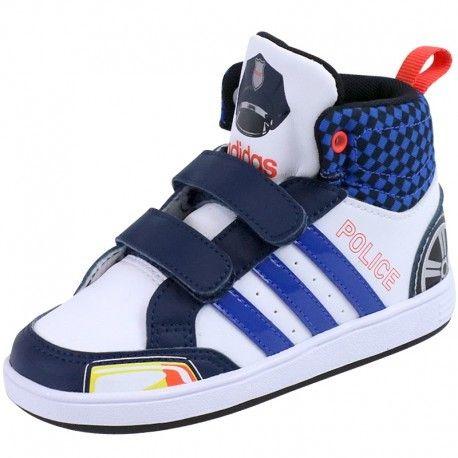 Chaussures Bébé Originals Police Hoops Montantes Adidas Blanc Cmf ChdxrtBsQ