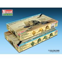 Vulcan - Models 56001 British At Qf 2PDR Gun 1:35 Plastic Kit