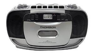 THOMSON Radio/CD/K7/MP3 - RK203CD - Noir et Gris