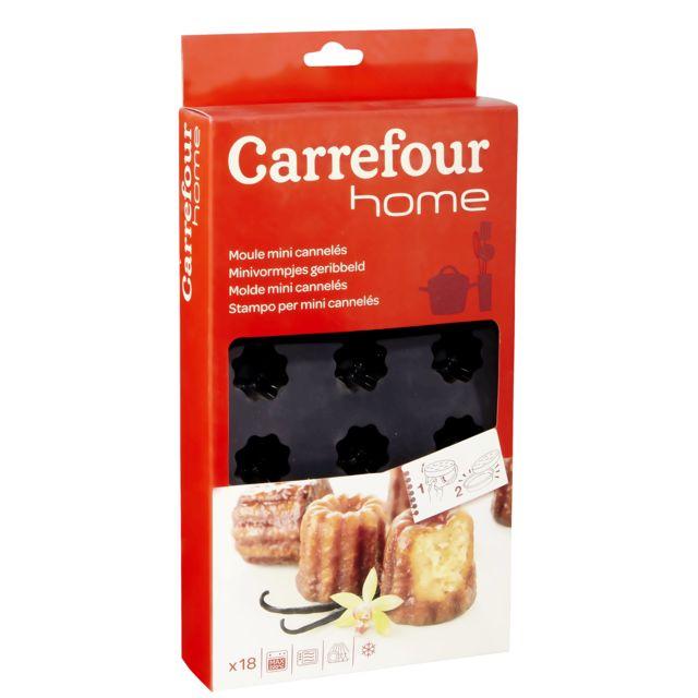Carrefour Plaque De 18 Moules à Mini Cannelés Silicone